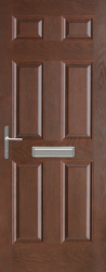 6 Panel Composite Door