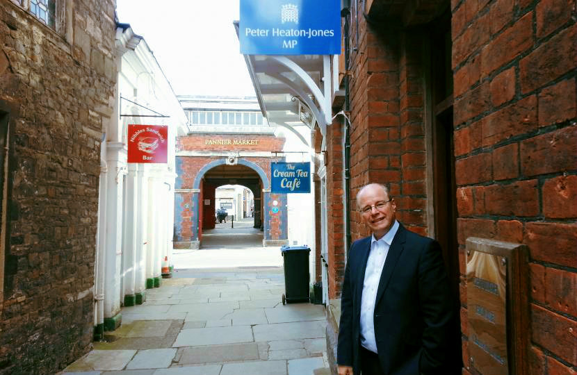 Peter Heaton Jones - MP for North Devon