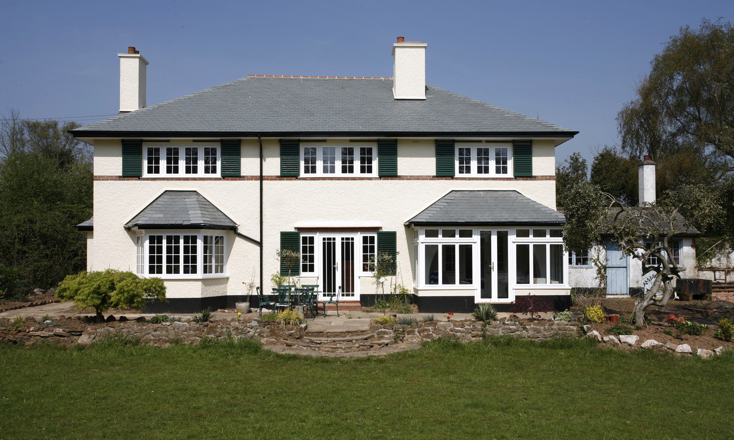 bay windows and bow windows from woodstock in north devon bay windows on an old house