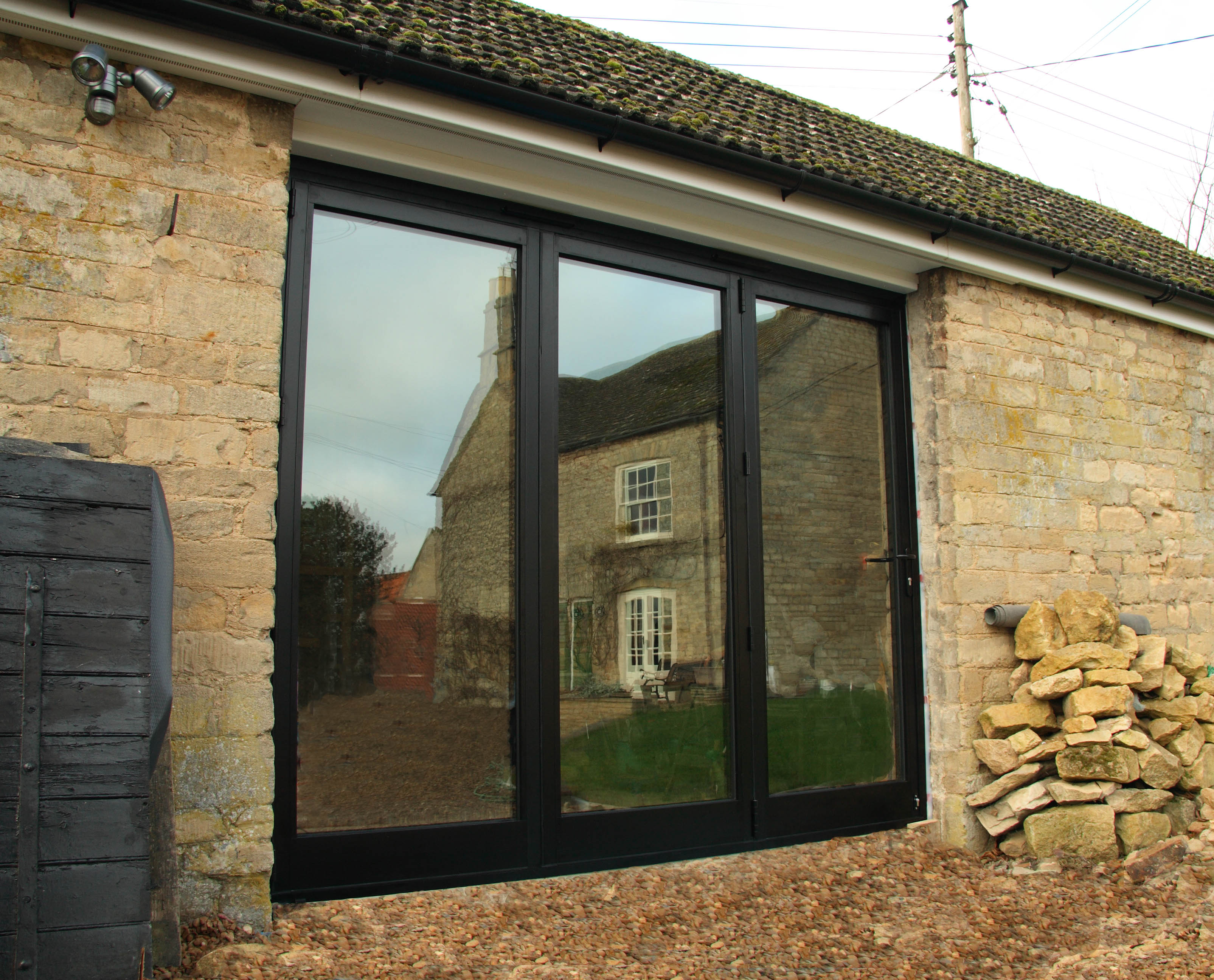 French Patio Doors Custom Designed And Fitted In North Devon