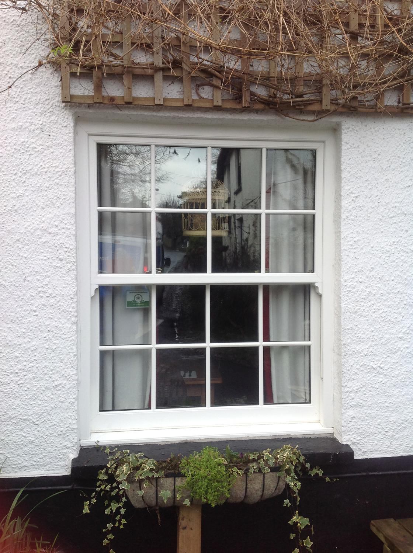 Black Upvc Windows >> Modern Vertical Sash Replacement Windows for North Devon Homes