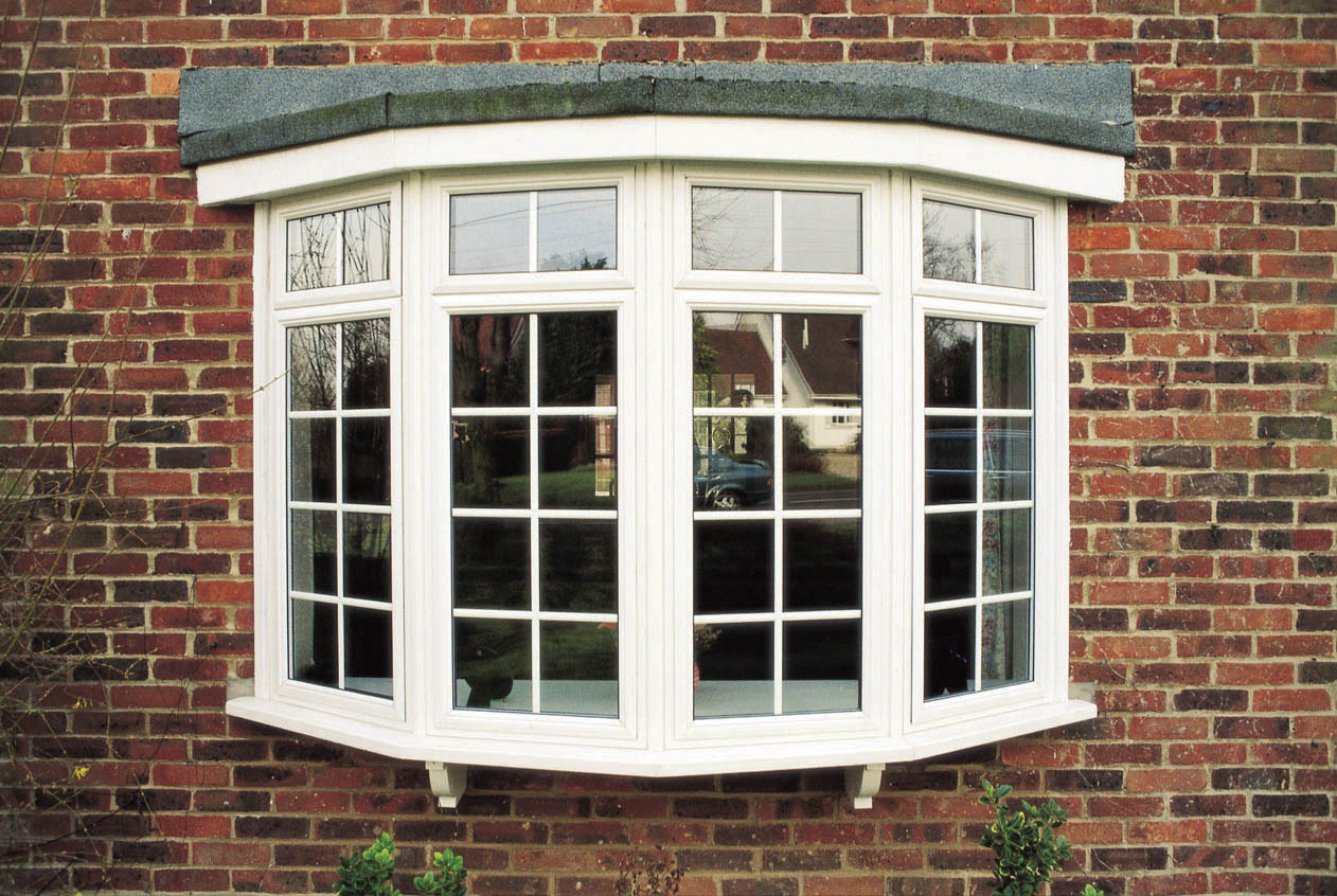 Bay windows and bow windows from woodstock in north devon for Best windows for new home construction