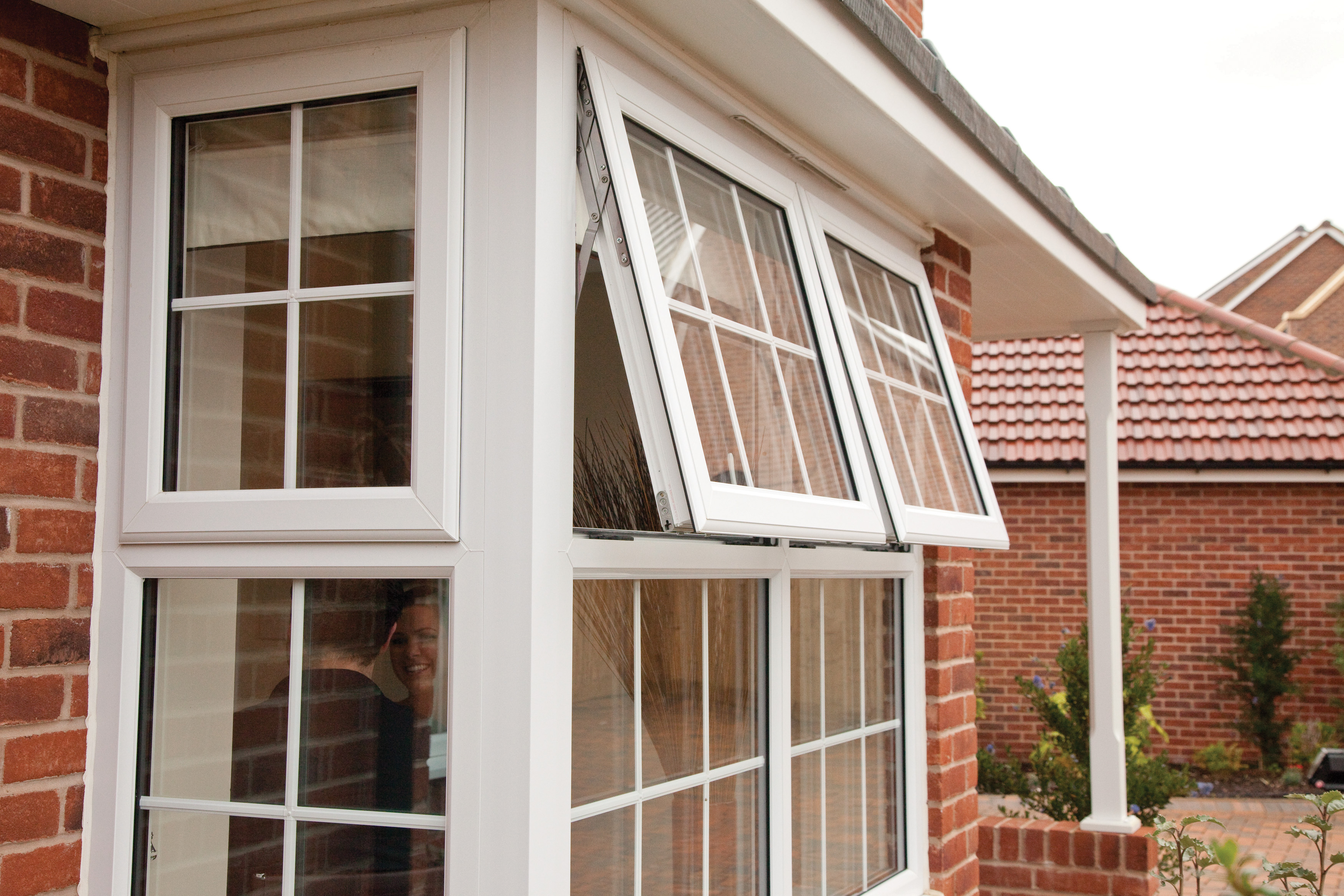 Pvcu double and triple glazed windows in north devon for Upvc window designs