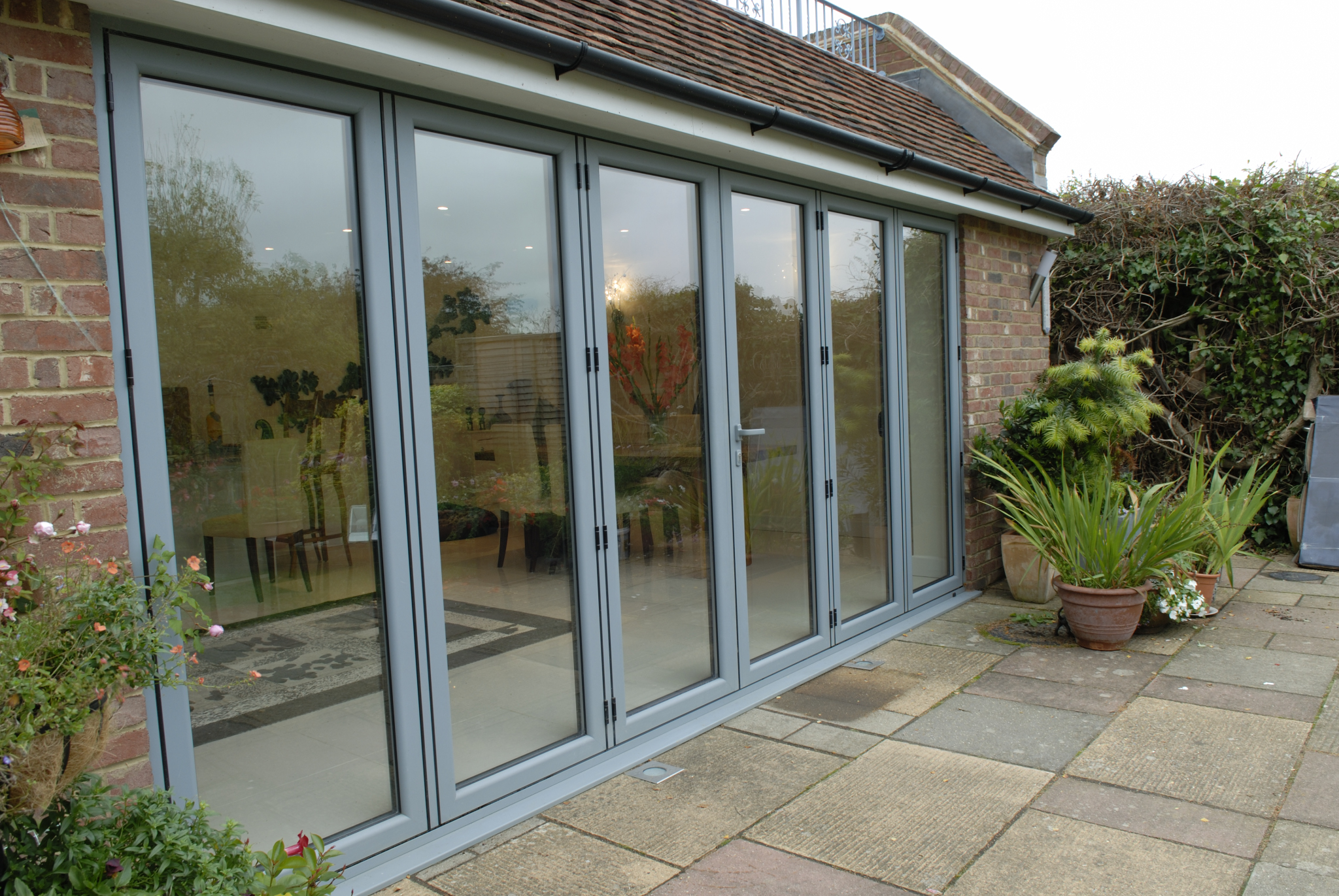 Bi Fold Doors Supplied In Devon For Modern Houses