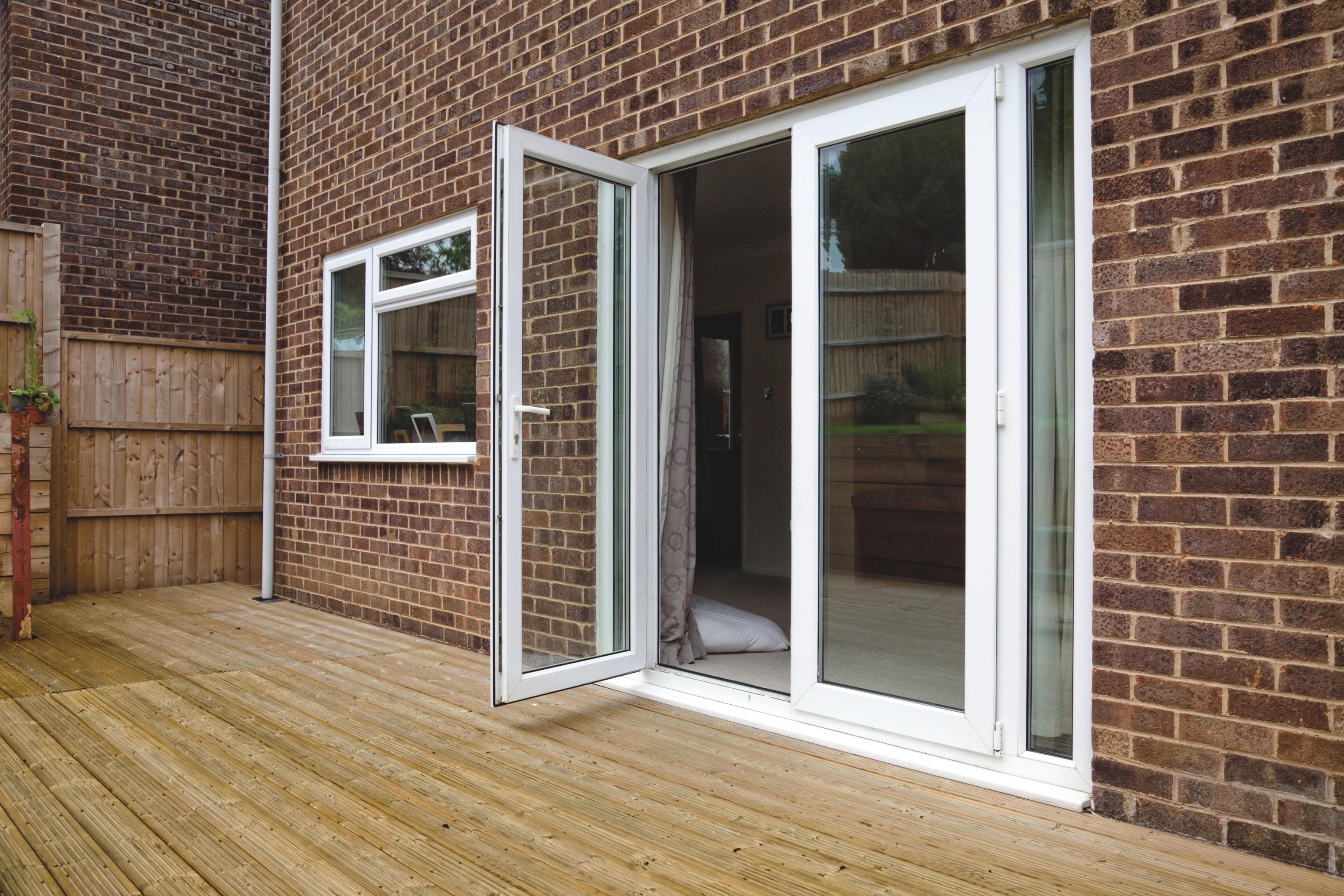 French patio doors custom designed and fitted in north devon for Patio windows and doors