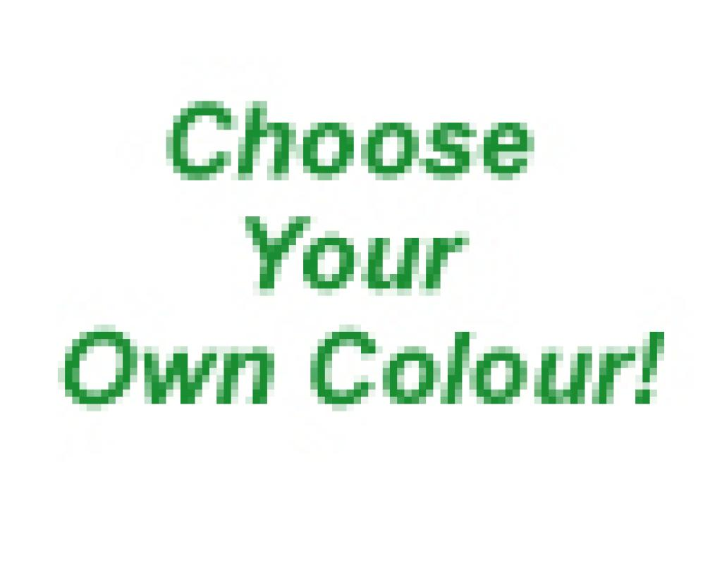 Choose your own aluminium window frame colour