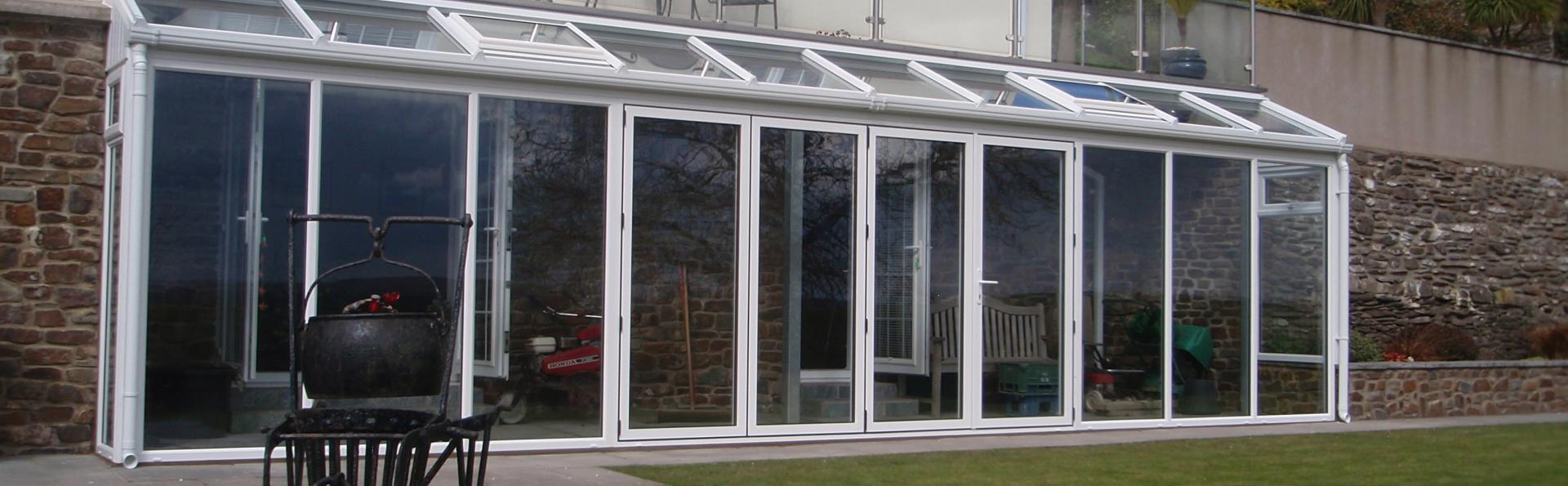 lean to conservatory installed in North devon