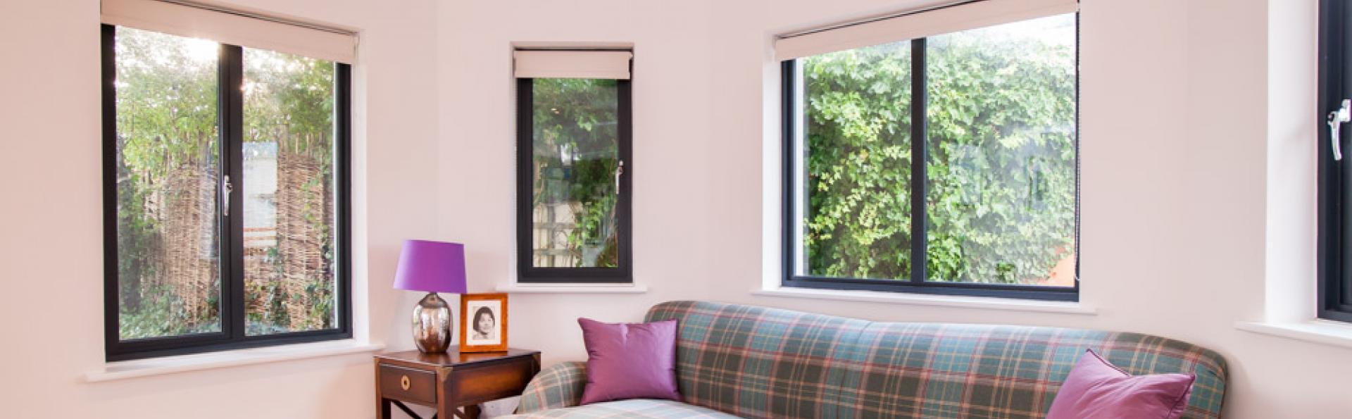 aluminium windows installed in North devon