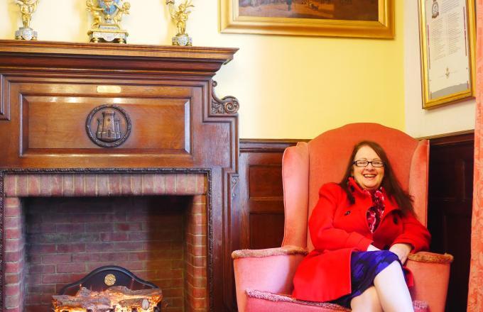 Julie Hunt - Mayor of Barnstaple