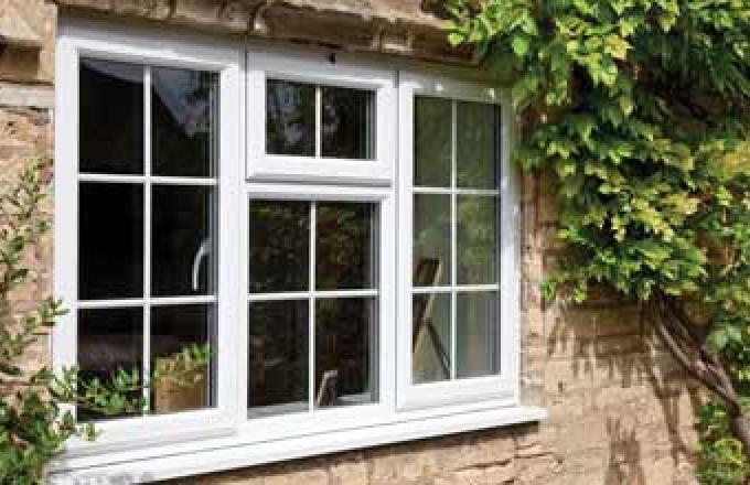 UPVC windows fitted to a North Devon cottage