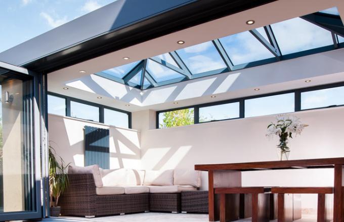 aluminium sky room conservatory