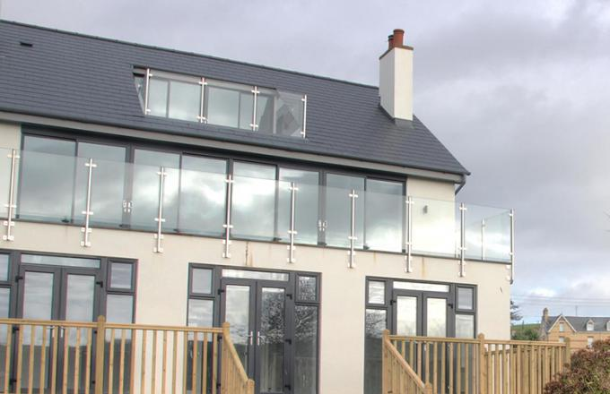 Aluminium doors and windows Devon