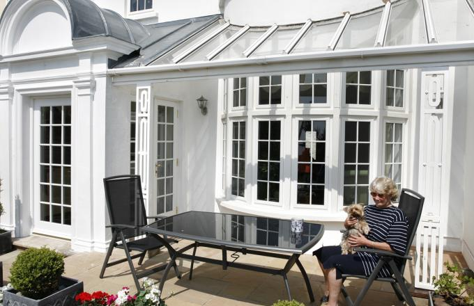 upvc conservatories in North Devon from Woodstock