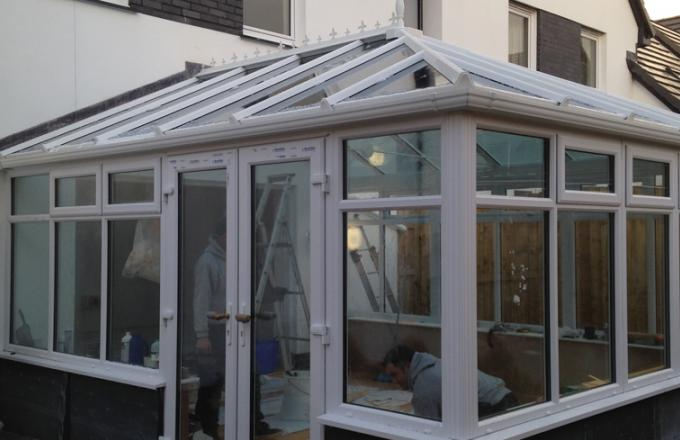 Lean-to conservatories installed in North Devon