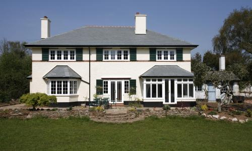Casement windows in North Devon