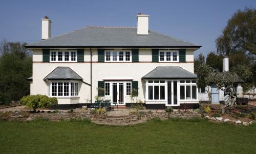 Casement windows in North Devon
