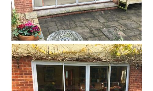 ultra slim line patio doors before and after replacement