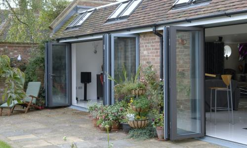 bi fold doors from Woodstock