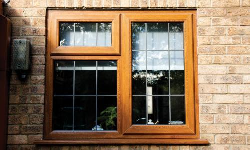 brown upvc windows from Woodstock