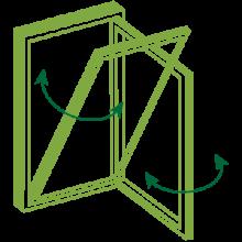 tilt and turn casement windows