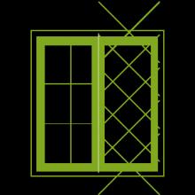 Custom designed bay windows
