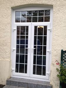 double doors installed in North Devon