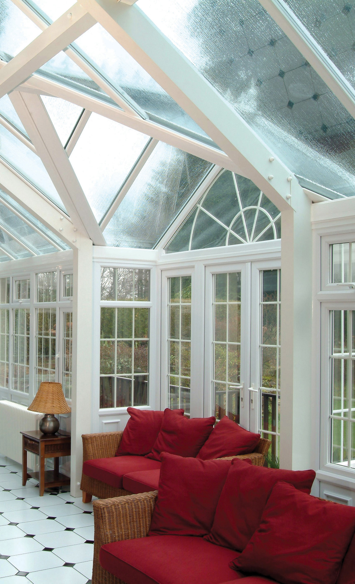 Wood framed conservatory Saunton