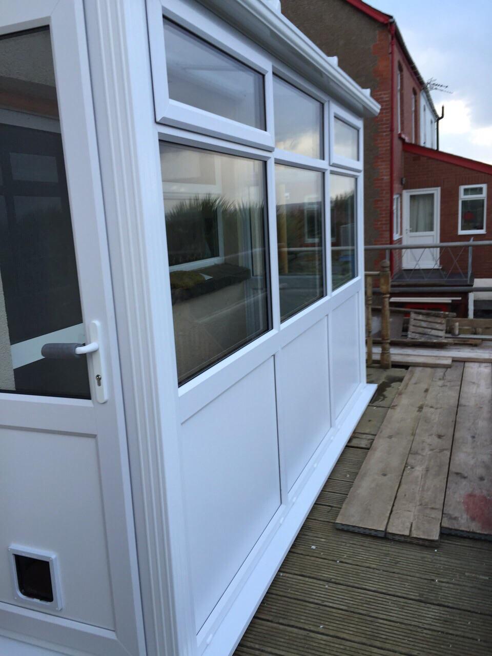 conservatory installed in Landkey in North Devon